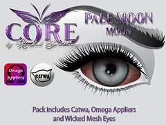 PALE MOON EYES (CORE formally Rachel Swallows Creations) Tags: appliers catwa corebyrachelswallows eyes free gift groupgift mesh omega