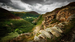 Green valley (Einir Wyn Leigh) Tags: landscape valley green pass clouds rural rugged light nikon outdoors countryside mountains rocks wales pleasure colour colorful
