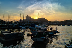 Urca - Rio de Janeiro (mariohowat) Tags: urca muretadaurca quadradodaurca sunset pôrdosol natureza riodejaneiro brasil canonm3