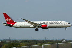 G-VNEW (PlanePixNase) Tags: london heathrow lhr egll planespotting airport aircraft virgin atlantic boeing 7879 b787 b789