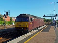 47802 Exeter St Davids (Marky7890) Tags: westcoastrailways 47802 class47 0z85 exeterstdavids railway devon devonmainline train