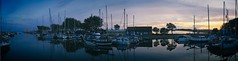 Pano - Blick in den Hafen von Orth | 8. September 2019 | Fehmarn - Schleswig-Holstein - Deutschland (torstenbehrens) Tags: pano blick den hafen von orth | 8 september 2019 fehmarn schleswigholstein deutschland