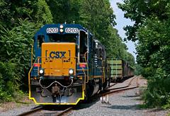 The Runaround (Erie Limited) Tags: conrail cr wpca20 hainesportnj csx emd gp402 train railfan railroad pembertonindustrial