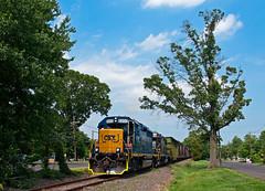 C&D for Hainesport (Erie Limited) Tags: conrail cr wpca20 hainesportnj csx emd gp402 train railfan railroad pembertonindustrial