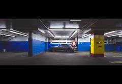 machine. (jonathancastellino) Tags: toronto parking garage friend porsche gt4 custom lot leica q2 pillar light series machine cayman hideandseek hiding wall division