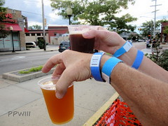 Cold Ones @ Harmony During Eastown Street Fair (PPWIII) Tags: grandrapids eastown street fair 2019 wealthy lake dr harmony brewing beer tent
