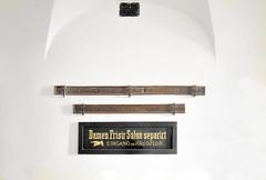 Viennese details . . . (Heinz Rührnschopf) Tags: text gewölbe indoor altwien