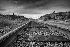 Trains, Planes, & Automobiles (rigpa8) Tags: traintracks countryroad bigsky sky tracks colorado railroad openspaces ngysaex