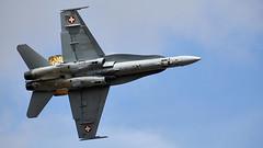 F/A-18 Hornet (Bernie Condon) Tags: fa18 hornet boeing fighter bomber military warplane jet aircraft plane flying aviation display spain spanish riat airtattoo tattoo ffd fairford raffairford airfield airshow uk