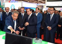 Cairo ICT 2018: President Sisi attends inauguration ceremony (ceoafrica) Tags: natio national people capetown international love beautiful meeting egypt xenophobia southafrica uganda kenya africa white black inauguration