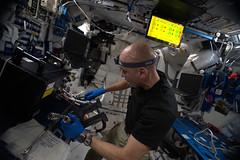Rubi reconfiguration (ESA_events) Tags: lucaparmitanoastroluca spacescience missionbeyond esanasa iss