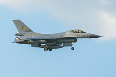 General Dynamics F-16A Fighting Falcon (Boushh_TFA) Tags: general dynamics f16a fighting falcon f16 j003 royal netherlands air force rnlaf nato tiger meet 2018 31st base krzesiny poznan poland epks nikon d600 nikkor 300mm f28 vrii