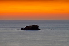 After sunset (Dumby) Tags: landscape anaxos greece sunset hellas lesbos island aegean sea seascape night