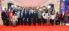 Cairo ICT 2018: President Sisi attends inauguration ceremony (ceoafrica) Tags: egypt love nigeria xenophobia southafrica uganda africa sudan politics meeting international national cairo ict