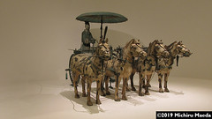 Horse Chariot With Its Rider (michiru_maeda) Tags: artefact funerary arts history chinese ancient chariot horse stockphoto microstock royaltyfree