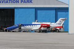 LX-RSQ - 2009 build Bombardier Learjet 45XR, visiting Hawarden (egcc) Tags: 45398 ambulance bizjet bombardier broughton ceg chester egnr hawarden lrq lxjag lxrsq learjet learjet45 learjet45xr lightroom luxembourgairrescue n398cg n5014e n694sh