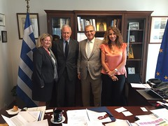Συνάντηση του Υφυπουργού Εξωτερικών, Αντώνη Διαματάρη, με τον πρόεδρο του Ελληνο-Αμερικανικού Εκπαιδευτικού Ιδρύματος, Richard L.Jackson (Αθήνα, 9. 9.2019) (Υπουργείο Εξωτερικών) Tags: υφυπεξ διαματαρησ προεδροσελληνοαμερικανικουεκπαιδευτικουιδρυματοσljackson