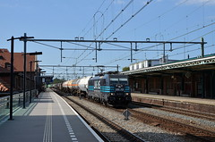 31.08.2019 (IX); Trainspots nabij Deventer (chriswesterduin) Tags: lineas traxx br186 trein train zug goederentrein güterzug cargo