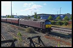 No 47802 8th Sept 2019 Norwich (Ian Sharman 1963) Tags: no 47802 8th sept 2019 norwich class 47 station diesel engine railway rail railways loco locomotive passenger west coast norfolk duff