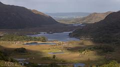 Light & Shadows (andrewfokwm) Tags: ireland landscape light shadow valley mountain river stream gap