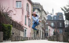 (dimitryroulland) Tags: nikon d750 85mm 18 dimitryroulland paris france montmartre pink rose natural light dance dancer shoe shoes performer art artist urban street city