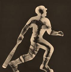 Swing Away (ahpook12) Tags: baseball sports toner glass photogram rayograph fineart contemporary michaelmendez experimental