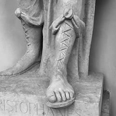 S Aristophanes (mitue) Tags: berlin sandalen staatsoper aristophanes