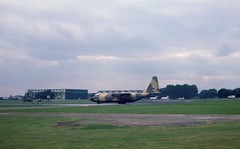 XV200 RAF Lockheed C-130 Hercules C.1 seen about to depart from RAF Northolt (heathrow.junkie) Tags: xv200 raf lockheed c130 hercules rafnortholt london hangars