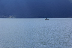 Fishing... (GeorgeKats) Tags: lake lakeprespes fishingboats fisherman fishing blue waterscape westernmacedonia macedonia hellas greece water minimalism minimal μακεδονια macedoniagreece macedoniatimeless makedonia macedonian macédoine mazedonien македонијамакедонскимакедонци