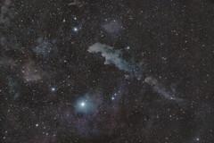 Witchhead Nebula (bencbright) Tags: rigel stars nebula witchheadnebula witch ic2118 widefield samyang samyang135mm 135 135mm ioptron skytracker pro fujifilm fuji longexposure xt10 astropixelprocessor