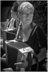 Lorient - trekzak (marc.demeuleneire) Tags: selecteren bw musician street festival celtique accordeon bretagne france nikon