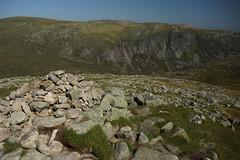 Summit of Cairn Bannoch (steve_whitmarsh) Tags: landscape aberdeenshire scotland scottishhighlands mountain hills highlands summit cairnbannoch rock rocks topic cairngorms