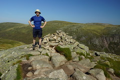 I Made The Last One (steve_whitmarsh) Tags: landscape aberdeenshire scotland scottishhighlands mountain hills highlands summit cairnbannoch rock rocks topic cairngorms