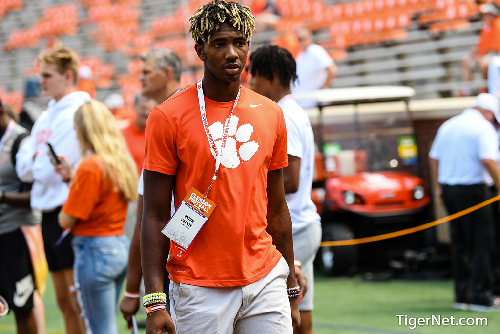 Clemson Photos: deioncolzie, 2019, Recruiting