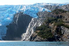 Close encounter with glacier at Prince William Sound in Alaska (CKwok Photography) Tags:
