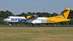 G-COBO (AnDyMHoLdEn) Tags: aurigny atr egcc airport manchester manchesterairport 05r