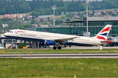 G-EUXI (PlanePixNase) Tags: zürich zurich zrh lszh kloten british britishairways airbus 321 a321 airport aircraft planespotting