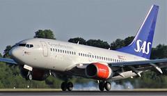 LN-RPJ (AnDyMHoLdEn) Tags: sas scandinavian 737 staralliance egcc airport manchester manchesterairport 05r