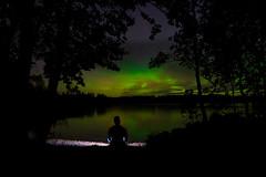 Lakeside Lightshow (Mygii) Tags: aurora borealis auroraborealis mikkeli finland