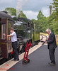Supervising (LMSlad) Tags: kwvr keighley haworth 78022 standard riddles 260