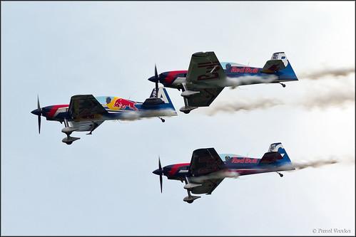 The Flying Bulls Aerobatic Team