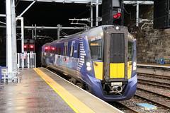 385108 Glasgow Queen Street 3/9/2019 (Martin Coles) Tags: scotrail trains train rail railways railway glasgow class385 at200 glasgowqueenstreet 385108