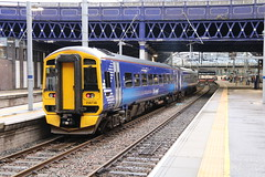158738 Glasgow Queen Street 3/9/2019 (Martin Coles) Tags: scotrail trains train rail railways railway glasgow class158 expresssprinter glasgowqueenstreet 158738