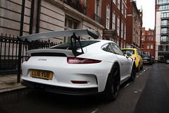 Porsche 991 GT3 RS (R_Simmerman2) Tags: porsche 991 gt3 rs gt3rs united kingdom uk mayfair harrods knightbridge parklane sloane street hyde park valet parking garage hotel combo supercars sportcars hypercars londoncars carsoflondon supercarsoflondon