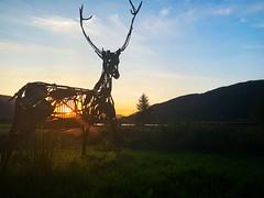 Glencoe Sunset (Ruaraidh80) Tags: glencoe scotland iphone iphonography sunset loch mountains landscape calm highlands