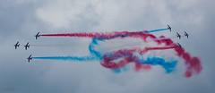 Blurred Lines (Mr_White33) Tags: montdemarsan paf patrouilledefrance ntm19 landes avion alphajet ba118 natotigermeet meetingaérien