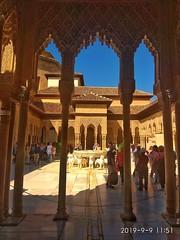 Patio de los leones, alambra, granada (K@moeiras) Tags: kamo alhambra patiodelosleones granada españa monumentos palacio