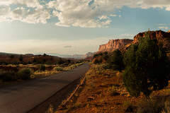 Driving thru Capitol Reef National Park (hicken999) Tags: capitolreef road landscape utah outside