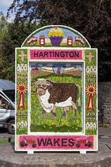 Well Dressing (MrBigglesworth) Tags: derbyshire welldressing flowers well hartington buxton england unitedkingdom