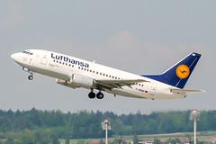 D-ABIM (PlanePixNase) Tags: zürich zurich zrh lszh kloten lufthansa 737 737500 b735 boeing airport aircraft planespotting